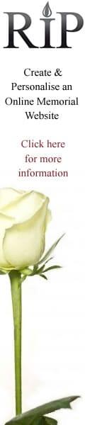 Online Memorial website